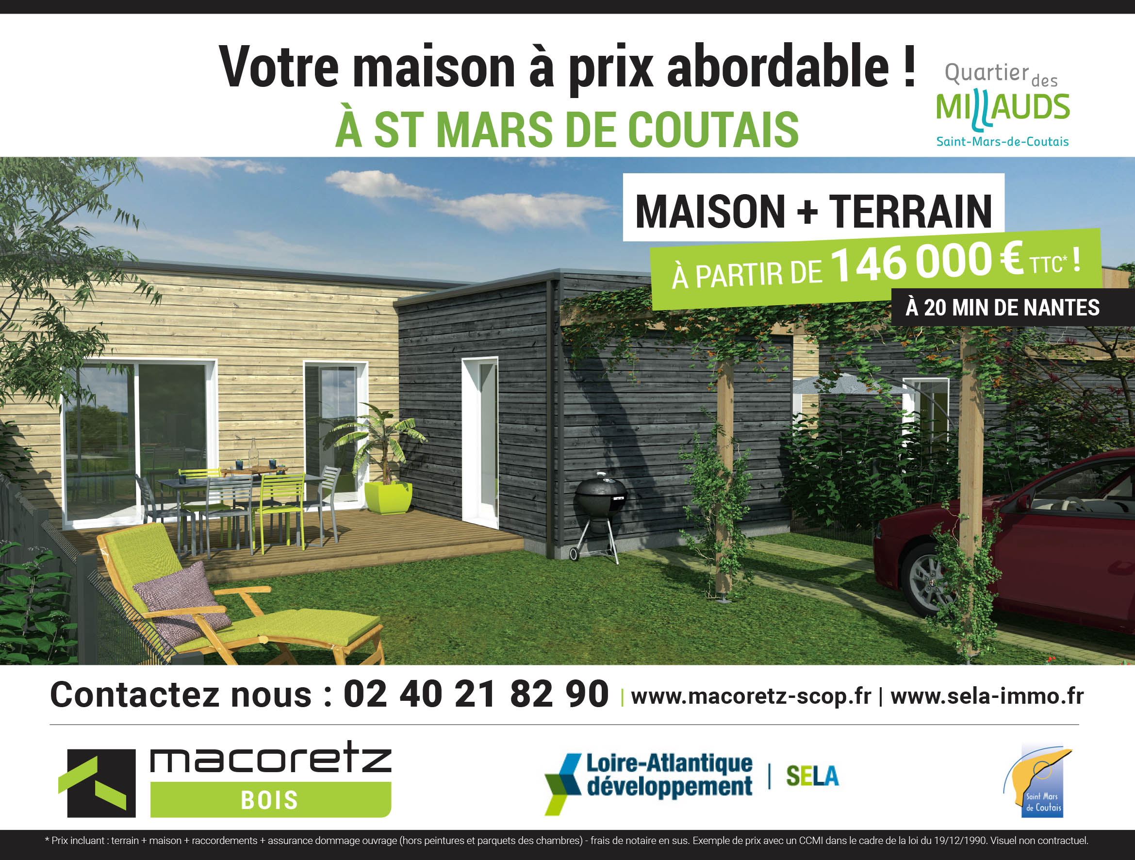 Quartier Les Millauds – Accession abordable