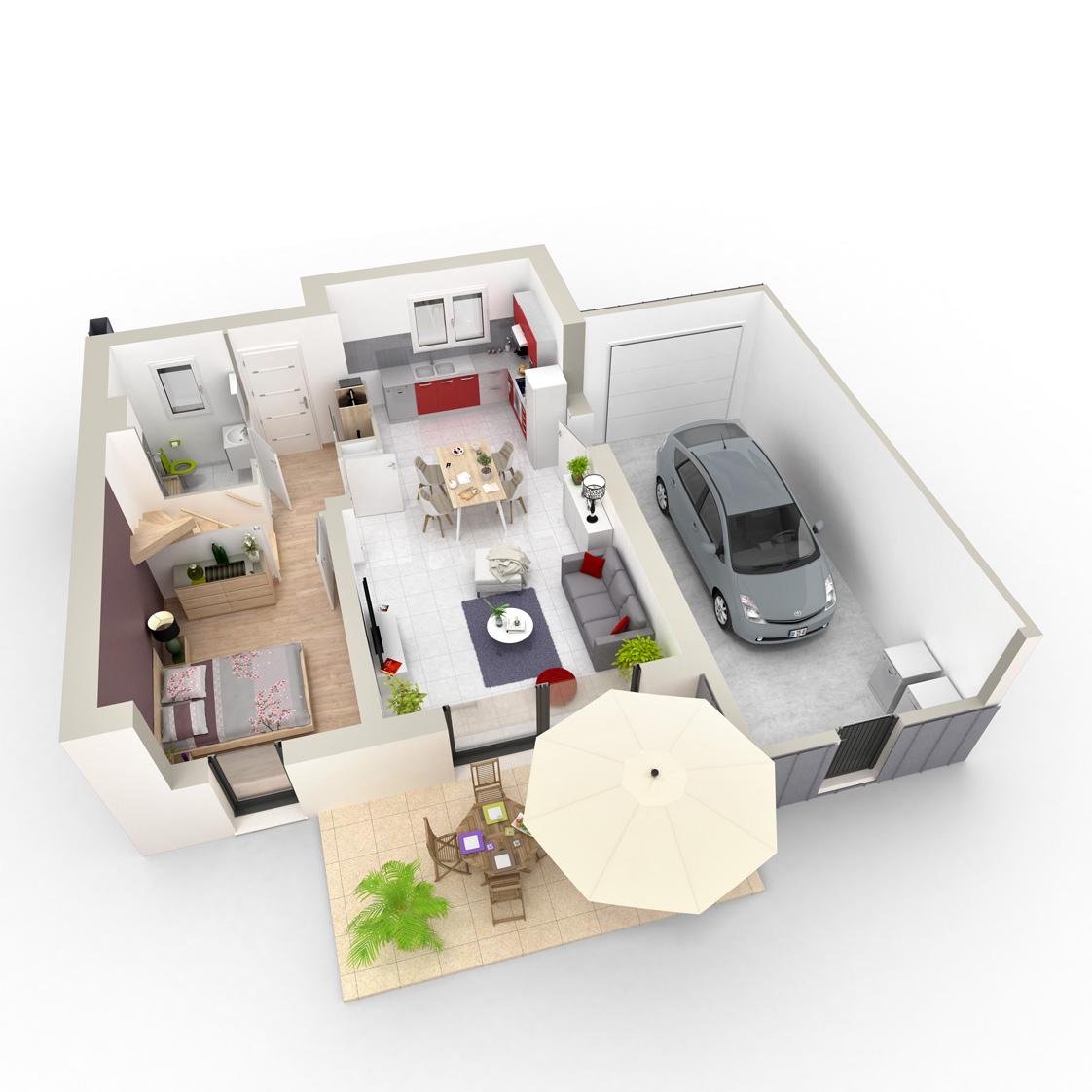 Les Villas Certé Maison + Terrain